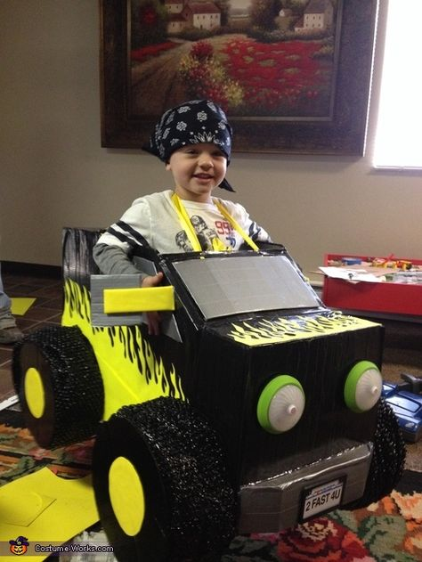 Monster Truck - Homemade costumes for boys