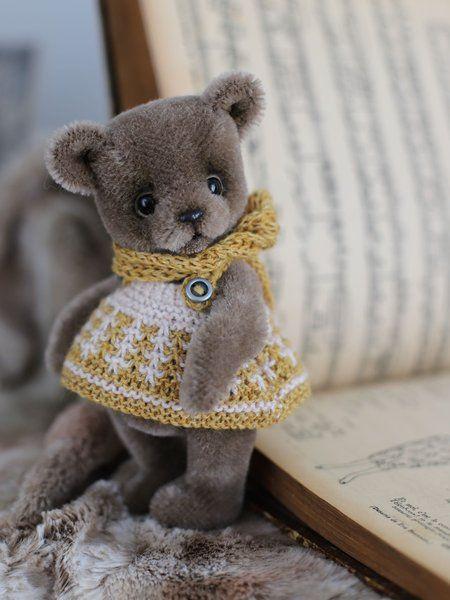 Flo by Stakhova Bears | Artist Bears | Bear, Sculpture techniques