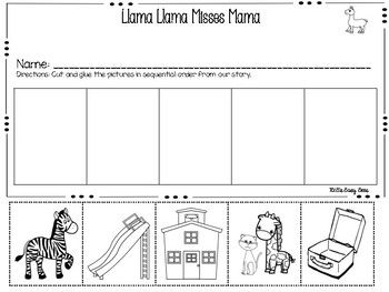 I Have This Llama Llama Misses Mama Set From Tpt I Will Include