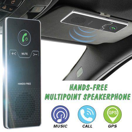 Auto Tires Hands Free Phone Audio Music Car Bluetooth
