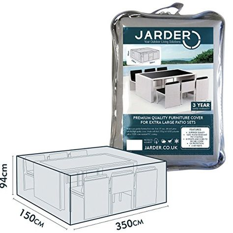 Jarder Patio Set Cover Table