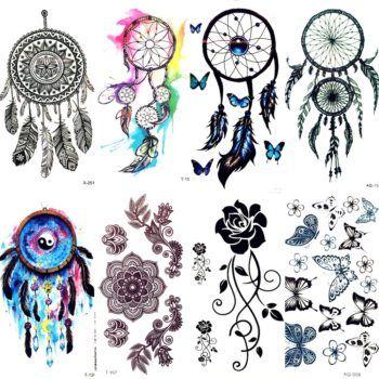 Dream Catcher Indian Tattoos 50 Off Free Shipping Dream Catcher Tattoo Design Dreamcatcher Tattoo Watercolor Dreamcatcher