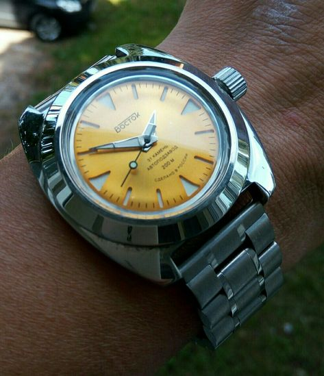 Vostok anphibia heavy mod SE 020 dial and 710 case