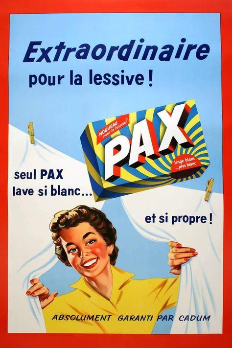 Pax - Garanti Par Cadum - 1950 / 30.5 / 46.5