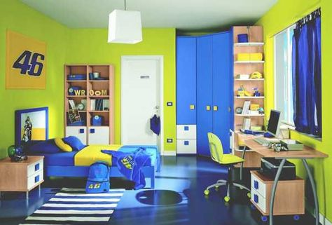 Colorful Children Bedroom for Creative Children\'s Growing Experience ...