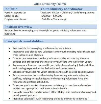Volunteer Resume Template Ten Secrets About Volunteer Resume Template That Has Never Been Re In 2020 Accounting Jobs Job Description Coordinator Job