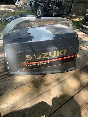 Details About Ip2322 Suzuki Dt100 Engine Cover Cowling Assy 1996 100hp 90hp Suzuki Outboard Motors Boat Parts