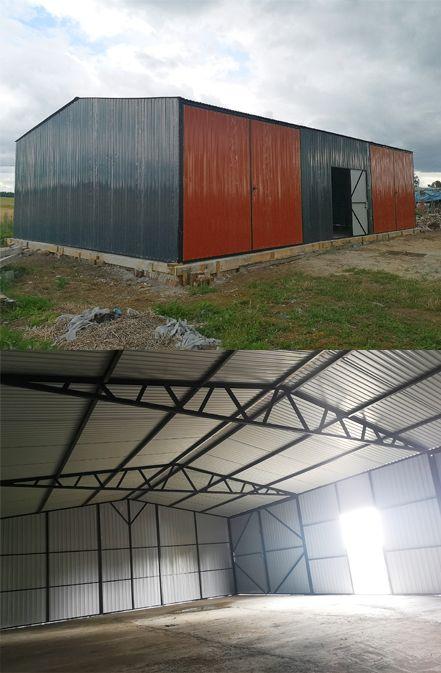 Hala Magazyn Wiata Blaszak Garaz Wzmacniany 8x12 Outdoor Decor Garage Doors Outdoor
