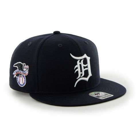 MLB Detroit Tigers Men's '47 Brand Big Shot Snapback Cap (Navy, One-Size) by '47 Brand. Save 22 Off!. $21.79. Made from 15/85 wool blend. Snapback closure. Enlarged league logo on right side of cap. 15/85 Wool Blend. One size fits all. Extra large primary logo on front. 47 Brand provides the quality all true fans desire in their gear. Known for their vintage look and feel, '47 has managed to also provide a new school spin to this old school craze. The Big Shot series is des...