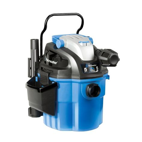 Vacmaster 5 Gal Wall Mount Portable Wet Dry Vac With 2 Stage Motor Vwm510 Wet Dry Vacuum Wet Dry Vac Car Vacuum Cleaner