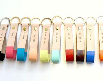 personalized wholesale leather key