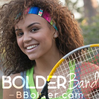 Bolder Band Headband Black Solid