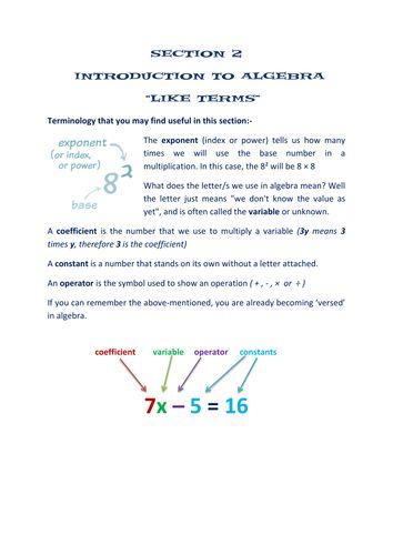Section 1 algebra worksheets - expanding brackets and factorising - algebraic multiplication worksheet