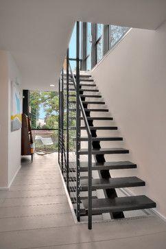 Crockett Residence Modern Staircase Seattle Chris Pardo