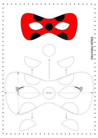 Resultado De Imagem Para Ladybug Feltro Molde Ladybug Feltro