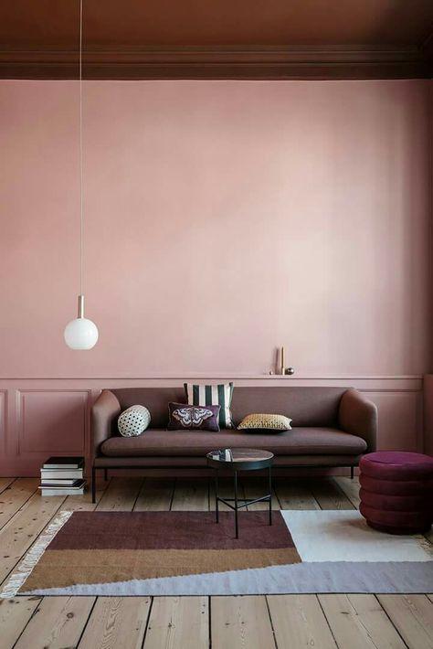 Un plafond en couleur pour réveiller une pièce - Elle Décoration ...