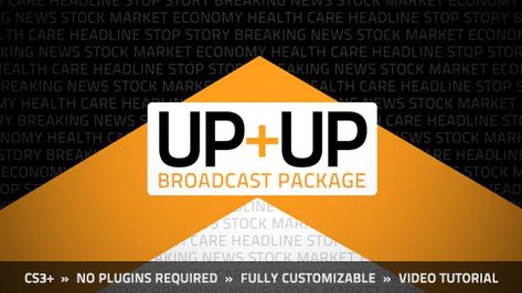 Up+Up Broadcast Package by MotionRevolver on Envato Elements