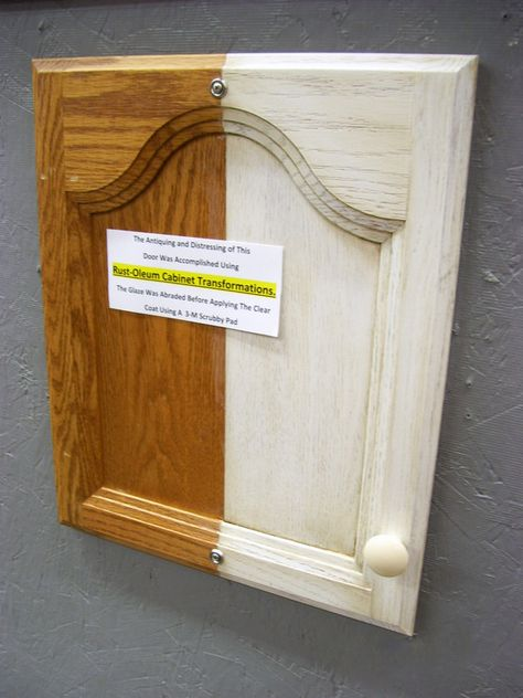 How to give wood a distressed, antique look   A great how-to from The Home Depot's paint expert!