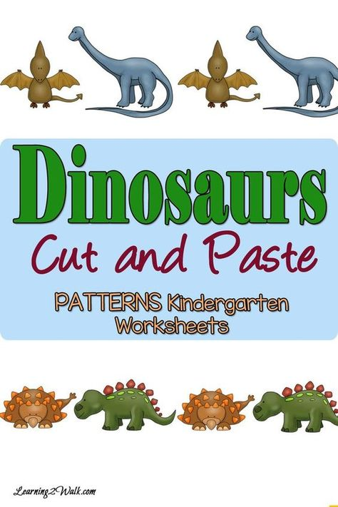 Dinosaurs Positional Words Worksheets For Kindergarten Educational