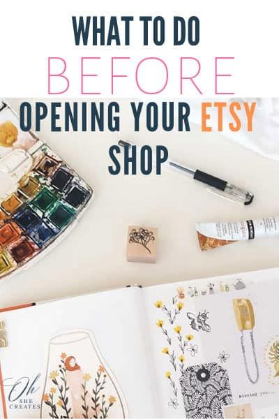10 things to do before starting an Etsy shop