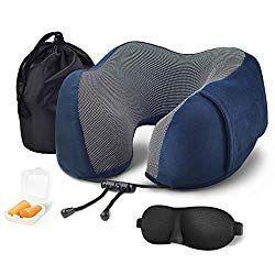 40 Off Pahajim Travel Pillow Memory Foam U Shaped Neck Pillow For