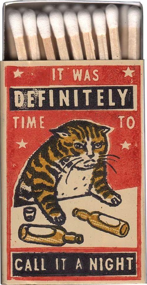 Vintage Illustrations Arna Miller, grumpy cat matchbox illustration - Visit the post for more. Smal Tattoo, Half Elf, Plakat Design, Matchbox Art, Funny Illustration, Arte Horror, Grafik Design, Ex Libris, Crazy Cats