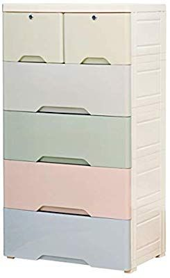 Nafenai 6 Drawer Dresser Plastic Bedroom Dressers Organizer For Toys Clothes Chest Of Drawers Organiz Bedroom Dresser Organization Dresser Organization Dresser