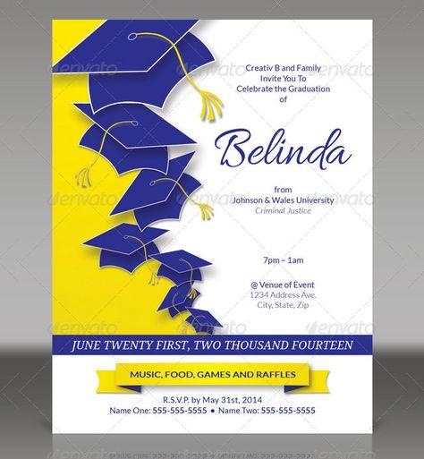 Graduation Invitations Templates Free Download Graduation