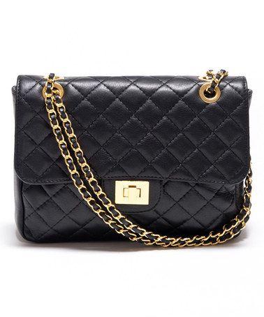 Nero Nichole Ferrerizulily Leather Bag Quilted Carla Shoulder By P0wONnZ8kX