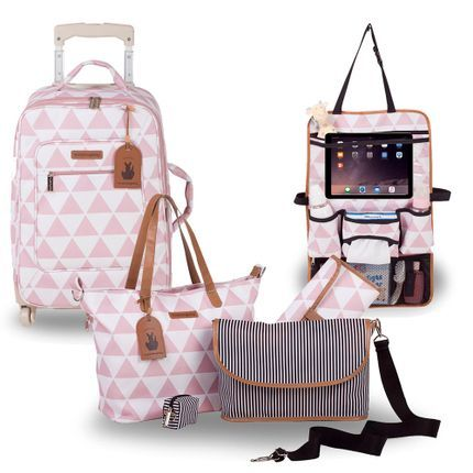 Mochila Maternidade Masterbag Noah Manhattan