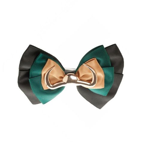 Marvel Avengers Loki Symbol Silk Bow Tie Or Hair Bow With 2 Clips