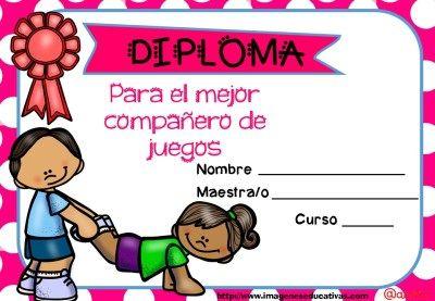 Diplomas FIN DE CURSO para premiar actitud y las capacidades (17)