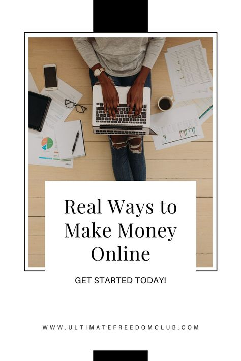 6 Real Ways to Make Money from Home