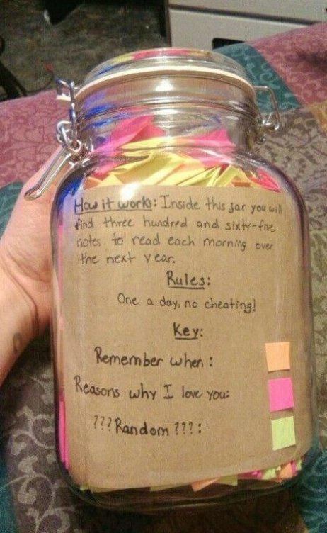 365 Day Jar Will Be Done When I Have Time And Really Properly Value Someone As My Friend Gifts For Your Boyfriend Romantic Diy Gifts Reasons Why I Love You