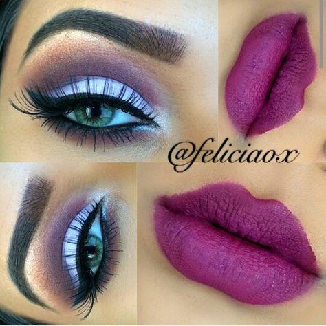 14cf7711a Omg i love it #feliciaox | Maquiagem e produtos | Maquillaje de ojos ...