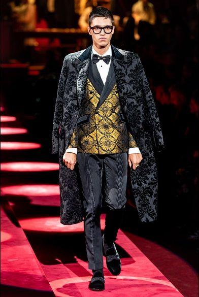 Sfilate uomo Dolce&Gabbana Autunno Inverno 2019 20