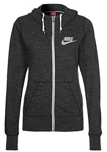 Nike Womens Gym Vintage Full Zip Hoodie In 2020 Vintage Tracksuit Nike Hoodies For Women Nike Hoodie Outfit