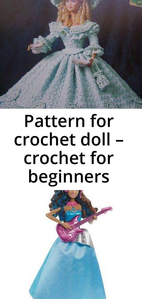 Pattern for crochet doll – crochet for beginners