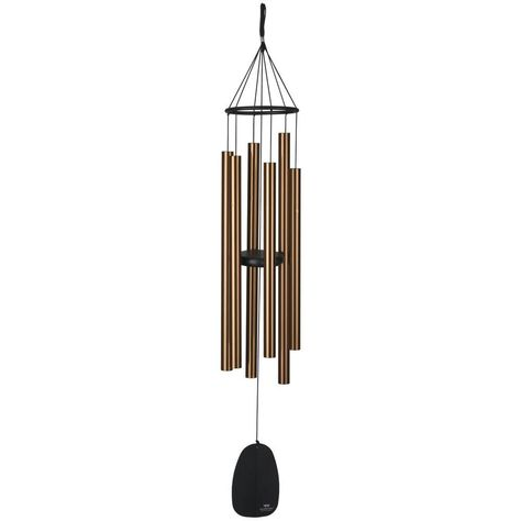 Woodstock Bplbr Signature Collection Large Bells Of Paradise Chime Bronze Wind Noisemakers Patio Lawn Garden