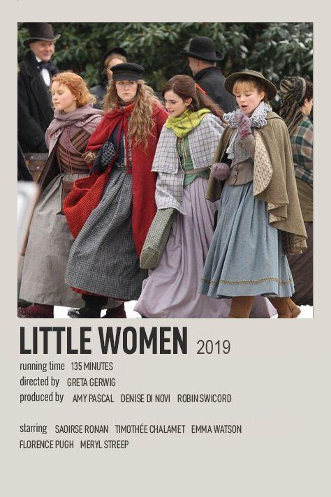 Little woman polaroid movie poster