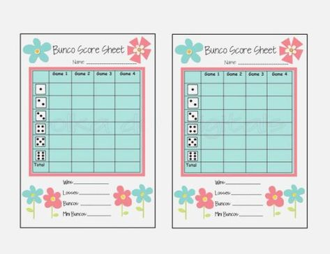 photo relating to Printable Bunco Score Sheets known as Absolutely free Summer season Printable Common Botanical Playing cards Established A few