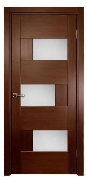 Ville Dominika Wenge Wood Veneer Modern Interior Door With Glass Doors Interior Modern Contemporary Interior Doors Wood Doors Interior