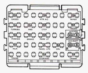 Gmc Sierra Mk1 1993 1994 Fuse Box Diagram Auto Genius Chevy Silverado 1994 Chevy Silverado Fuse Box