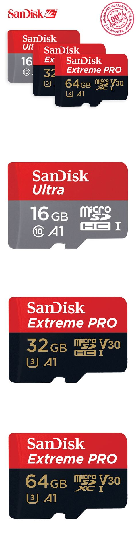 Sandisk Extreme Micro Sd Pictures Images Pro A1 Microsd 64gb 100mb S Microsdhc Uhs I Ultra Memory Card Sdhc Sdxc C