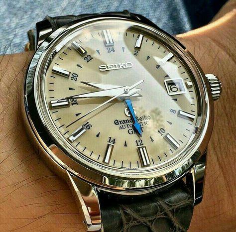 Grand Seiko GMT watch
