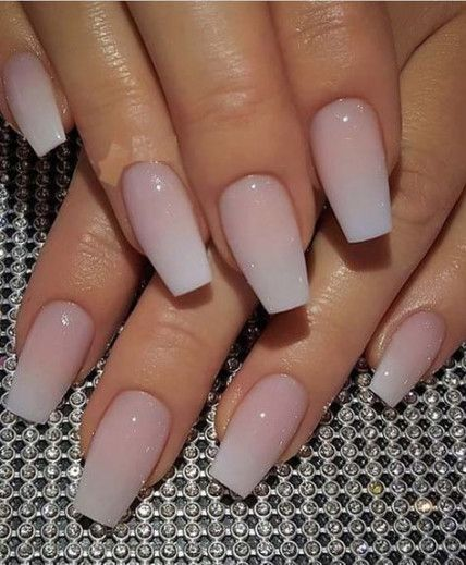 24 Ideas Nails Acrylic Medium Length French Nails Pink Acrylic