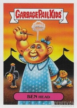 Pin By Robin On The Kids Are Alright Garbage Pail Kids Garbage Pail Kids Cards Retro Horror