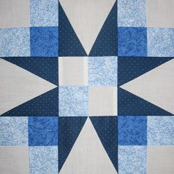 12,7 cm Quilting Creations Laurel Block Quilt Schablone
