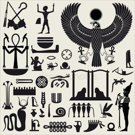 Egyptian Symbols and Sign SET 2 | Kemetic NTR | Egyptian