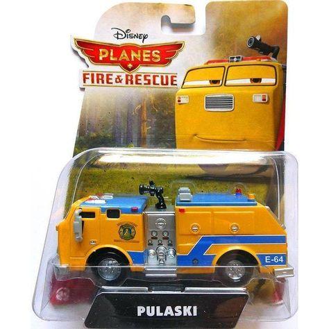 avalanc Firefighter Dusty Leadbottom Mattel Disney Planes 2//4er Set//Pontoon
